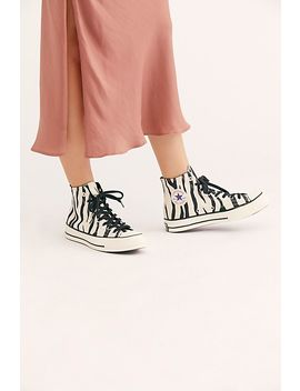 Chuck 70 Archive Print Hi Top Sneaker by Free People