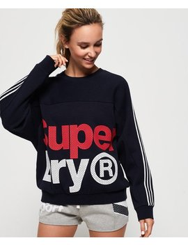 Athletico Crop Crew Sweatshirt by Superdry