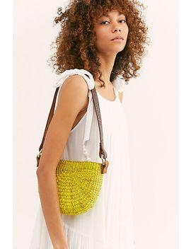 Sunshine Straw Shoulder Bag by Free People