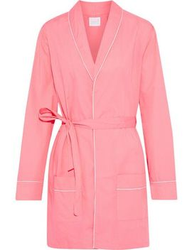 Alex Cotton Poplin Robe by Three J Nyc