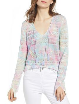 Delvy Open Knit Sweater by Zadig & Voltaire