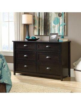 Sauder County Line 6 Drawer Dresser by Sauder