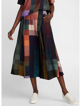 Chromatic Block Maxi Skirt by Elk