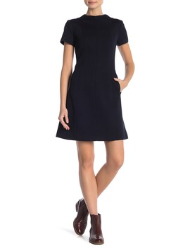 Apalia Front Zip Dress by Theory