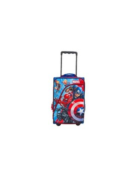 Marvel Avengers Kids' Suitcase   Red/Blue/White by Target