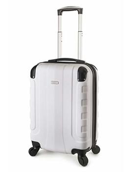 "Travel Cross Chicago 20"" Carry On Lightweight Hardshell Spinner Luggage by Travelcross"