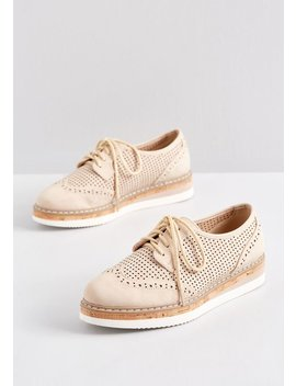 To The Beat Oxford Platform by Modcloth