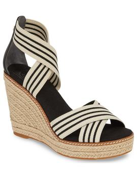 Frieda Espadrille Wedge Sandal by Tory Burch