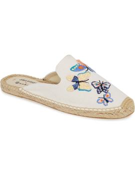 X Baobap Butterflies Embroidered Mule by Soludos