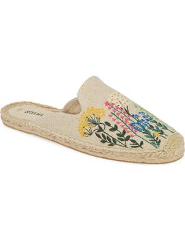 Wildflowers Espadrille Mule by Soludos