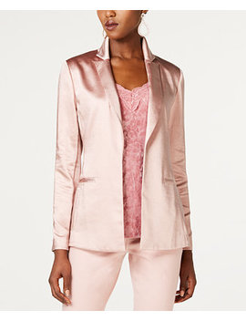 I.N.C. Satin Open Front Blazer, Created For Macy's by Inc International Concepts