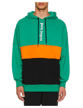 Men's Logo Hoodie Sweatshirt by Palm Angels