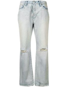 Ripped Bootcut Jeans by John Elliott