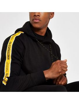 Jack & Jones Black Tape Hoodie by River Island