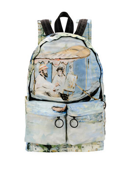 Men's Impressionist Lake Backpack by Off White