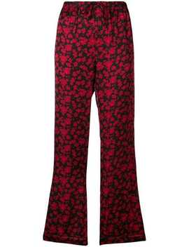 Floral Print Pyjama Trousers by Love Stories