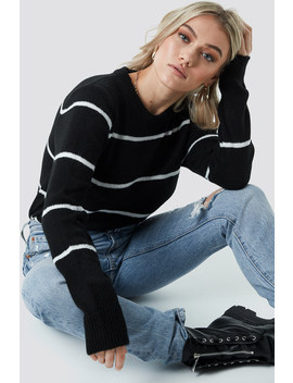 Small Stripes Knitted Sweater by Na Kd