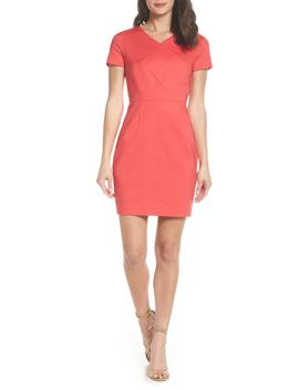Glass Stretch Sheath Dress by French Connection