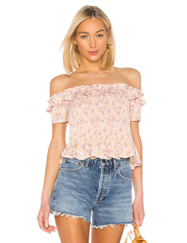 Smocked Off Shoulder Top by Bcb Generation