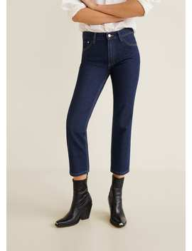 Jean Straight Cropped Maggie by Mango