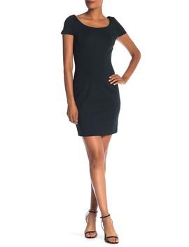 Bernice Scoop Neck Sheath Dress by Elie Tahari