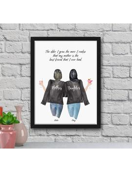Mothers Day Gift, Personalised Mum Gift, Mothers Day, Mum Gift, Personalised Print, Mothers Day Photo Gift, Family Print, Mothers Day Print by Etsy