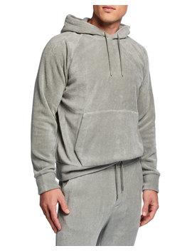 Men's Fleece Hoodie by Ralph Lauren