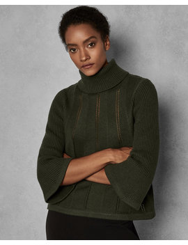 Exaggerated Stitch Jumper by Ted Baker