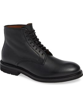 Renzo Water Resistant Plain Toe Waterproof Boot by Aquatalia