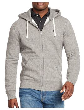 Classic Full Zip Fleece Hoodie by Polo Ralph Lauren