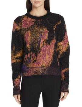 Fleur Metallic Jacquard Sweater by Rag & Bone