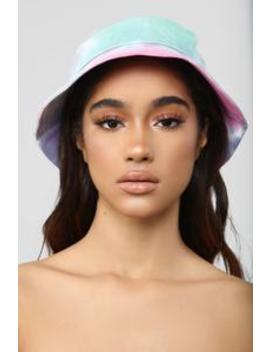 Chill Vibes Tie Dye Hat   Multi Color by Fashion Nova