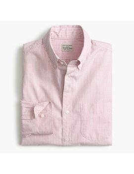 Slim Stretch Secret Wash Shirt In Gingham by J.Crew