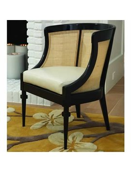 Cane Barrel Chair by Global Views