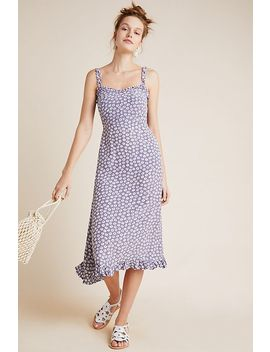 Faithfull Noemie Smocked Midi Dress by Faithfull