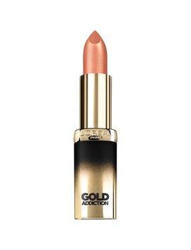 L'oreal Paris Colour Riche Gold Addiction Satin Lipstick, Beige Gold by L'oreal