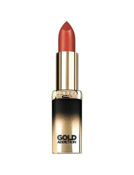 L'oreal Paris Colour Riche Gold Addiction Satin Lipstick, Penny Gold by L'oreal