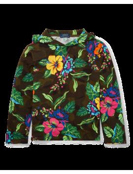 Floral Jersey Hooded Tee by Ralph Lauren