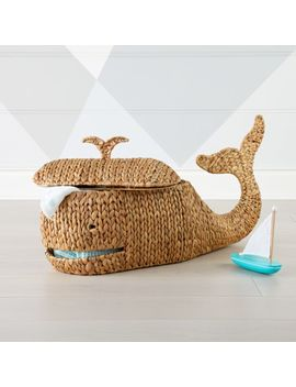 Whale Storage Basket by Crate&Barrel