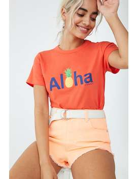 Aloha Graphic Tee by Forever 21