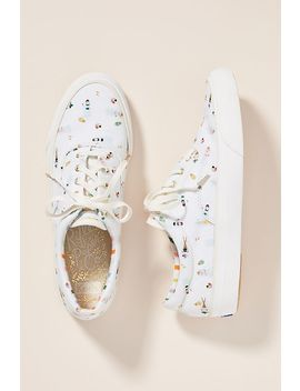 Keds X Rifle Paper Co. Anchor Sun Girls Sneakers by Keds