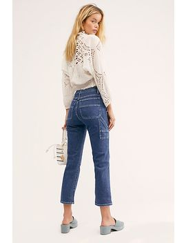 3x1 Rose Carpenter Jeans by Free People