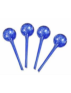 Aqua Globes Ag011706 Glass Plant Watering Bulbs (4 Pack) by Aqua Globes
