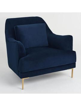 Ink Blue Samara Chair by World Market