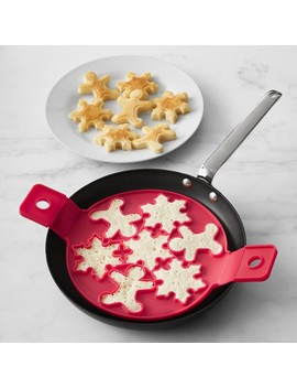 Holiday 7 In 1 Silicone Pancake Flipper by Williams   Sonoma