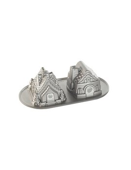 Nordic Ware Gingerbread House Duet Pan by Nordicware