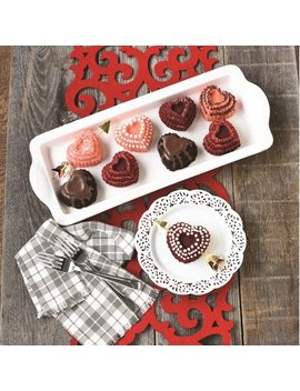 Nordic Ware Tiered Heart Cakelet Pan by Nordicware