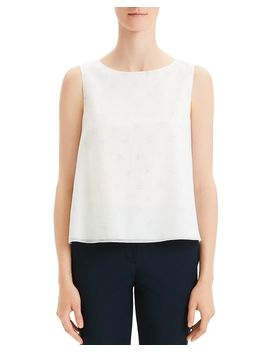 Sleeveless Print Top by Theory