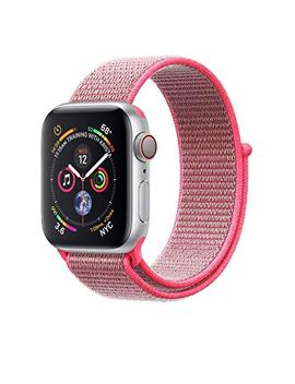Ad Master Compatible For Apple Watch Band 38mm 40mm 42mm 44mm, Soft Nylon Sport Loop Replacement Wristband Compatible I Watch Apple Watch Series 4/3/2/1 by Ad Master