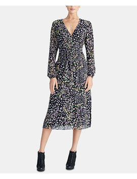 Smocked Midi Dress, Created For Macy's by Rachel Rachel Roy